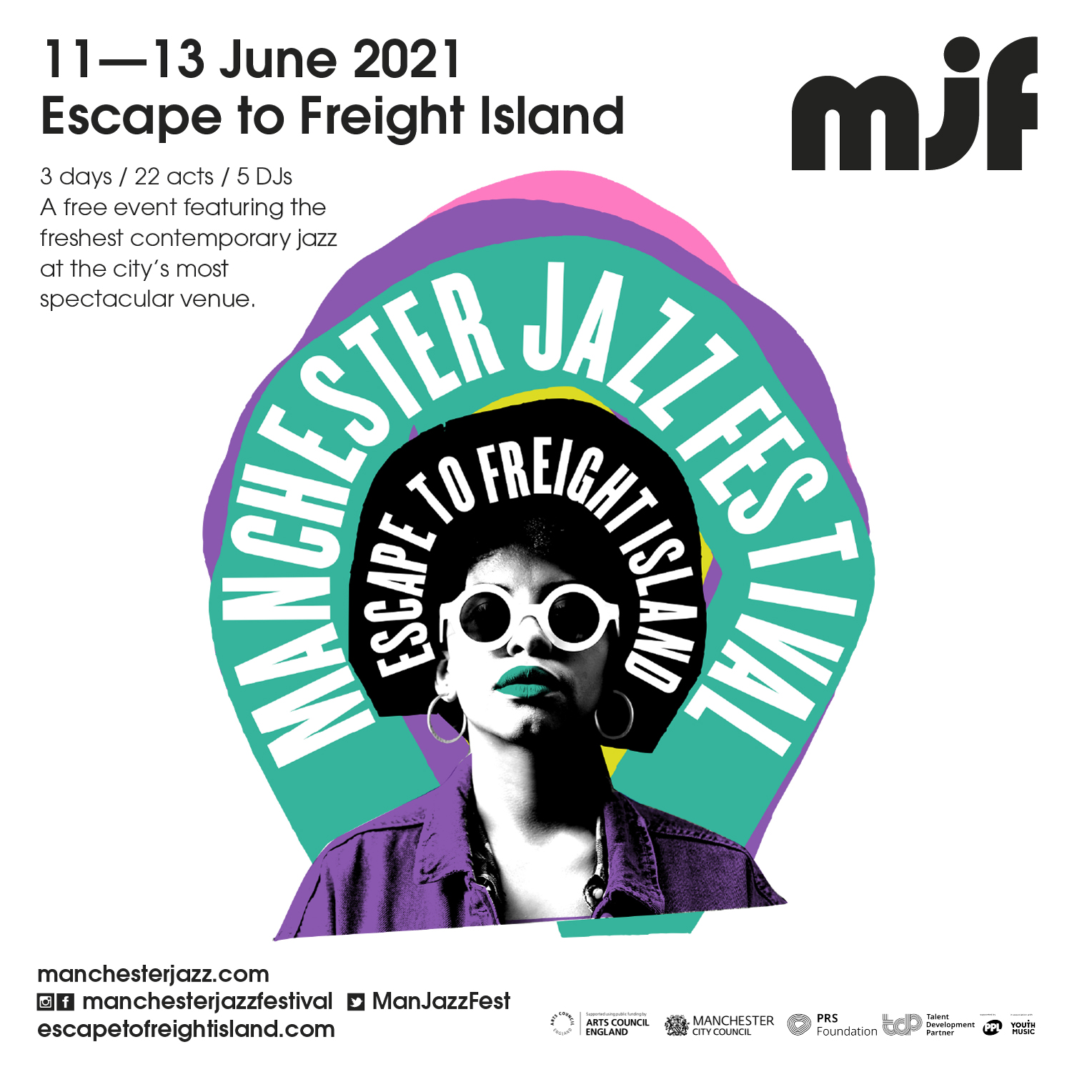 mjf heads to Freight Island this June!